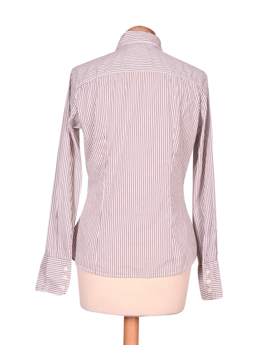 Back photo of Preloved Sisley White Woman's shirt - size 10/M