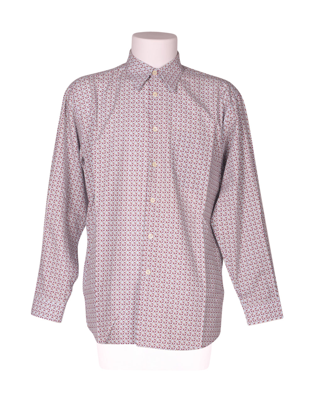 Front photo of Preloved Acrobate Light-blue Man's shirt - size 40/L