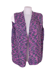 Front photo of Preloved Pura lana Violet Woman's bolero - size 10/M