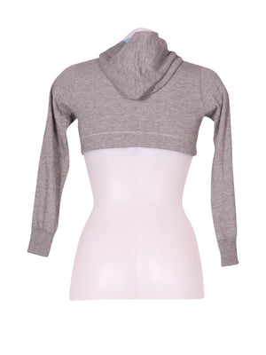 Back photo of Preloved Puma Grey Woman's sweatshirt - size 10/M