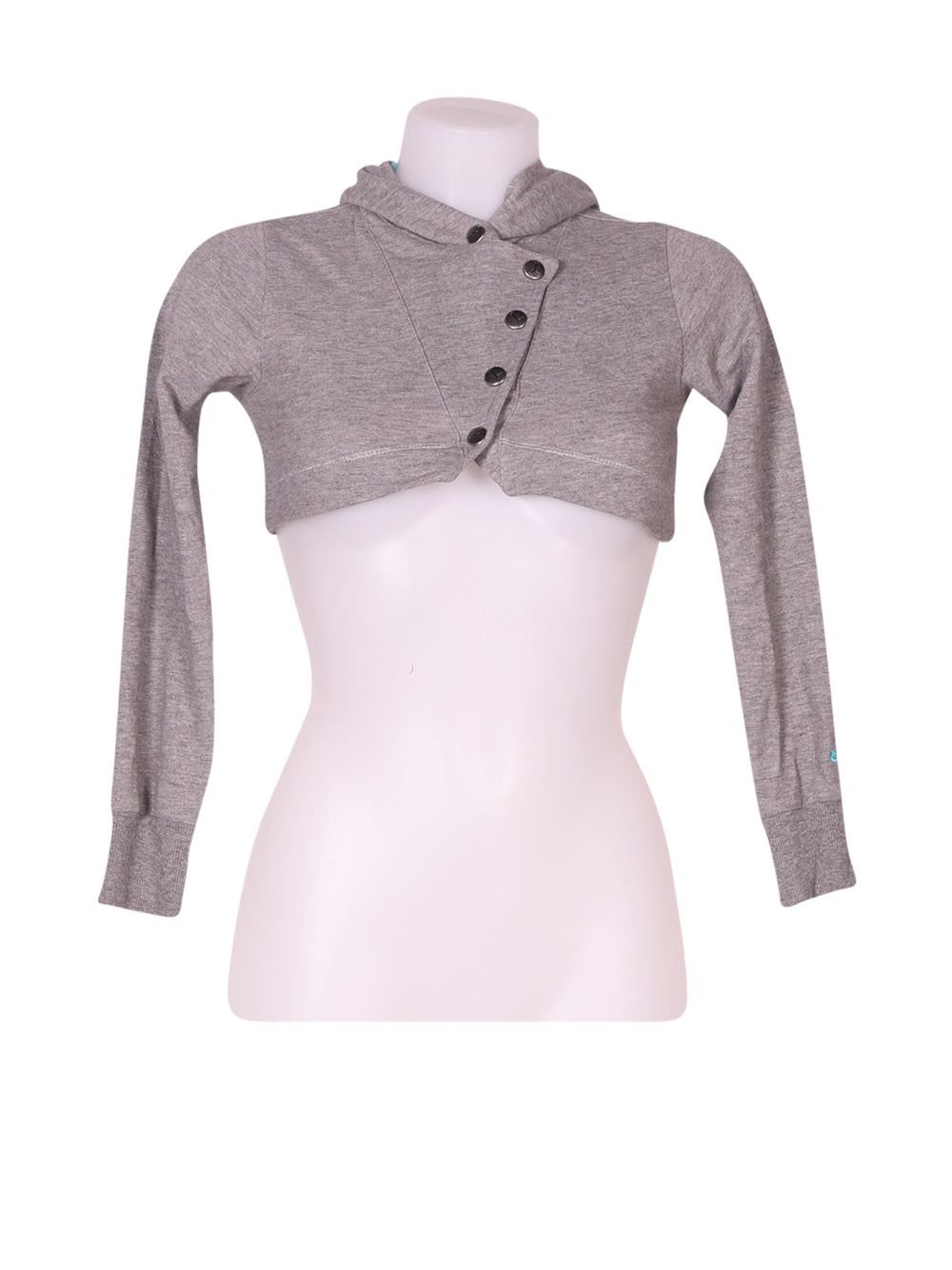 Front photo of Preloved Puma Grey Woman's sweatshirt - size 10/M