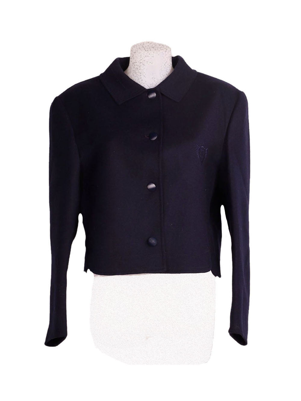 Front photo of Preloved Gallarà Black Woman's jacket - size 14/XL