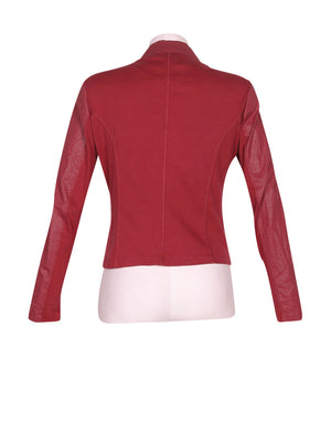 Back photo of Preloved sandwich Bordeaux Woman's jacket - size 10/M