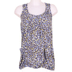 Front photo of Preloved Silvian Heach Blue Woman's sleeveless top - size 8/S