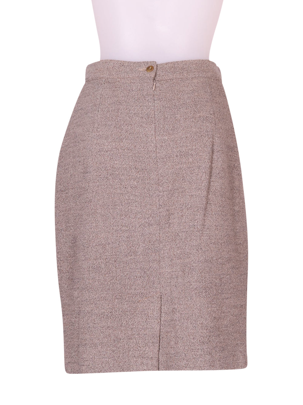 Back photo of Preloved fiorella cassaghi Beige Woman's skirt - size 10/M