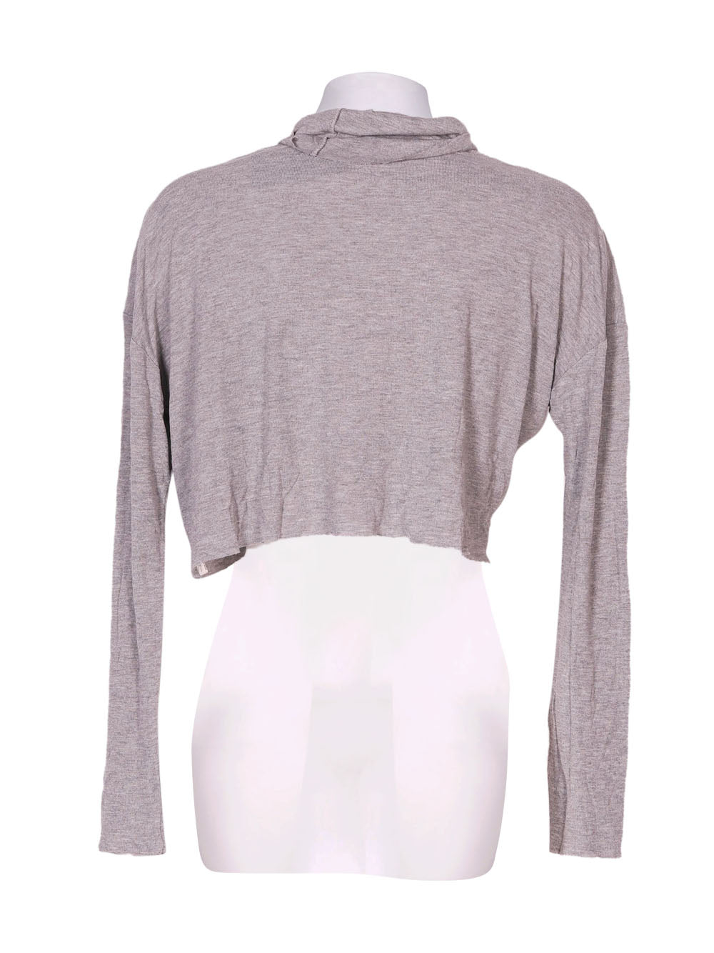 Back photo of Preloved Oysho Grey Woman's long sleeved shirt - size 10/M