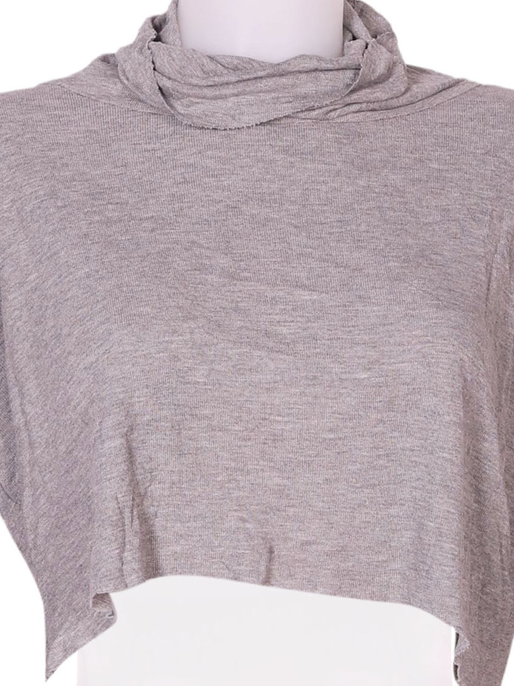 Detail photo of Preloved Oysho Grey Woman's long sleeved shirt - size 10/M