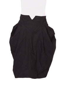 Front photo of Preloved WANAMA Black Woman's skirt - size 14/XL