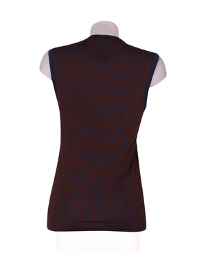Back photo of Preloved Intimissimi Brown Woman's sleeveless top - size 8/S