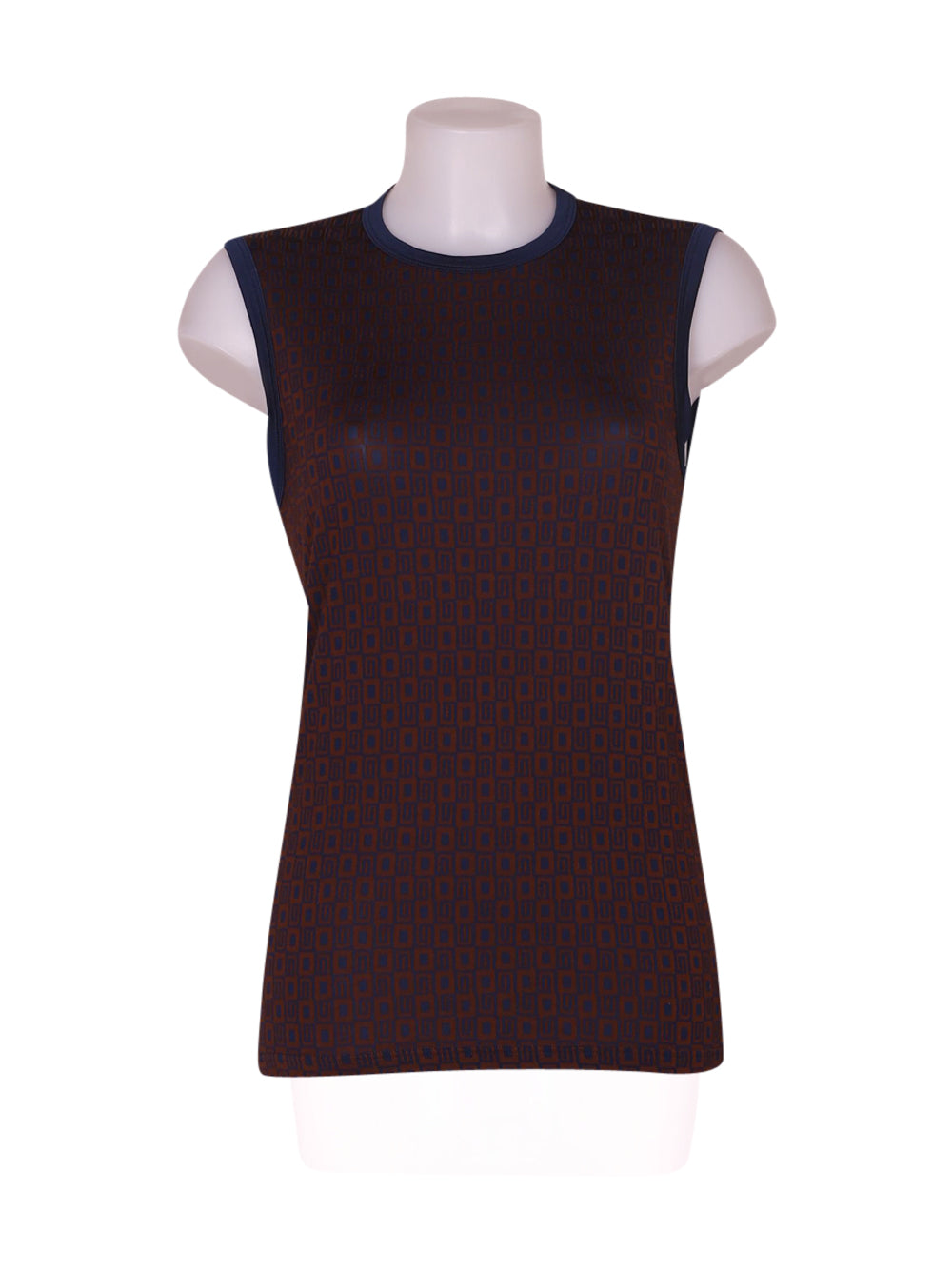 Front photo of Preloved Intimissimi Brown Woman's sleeveless top - size 8/S
