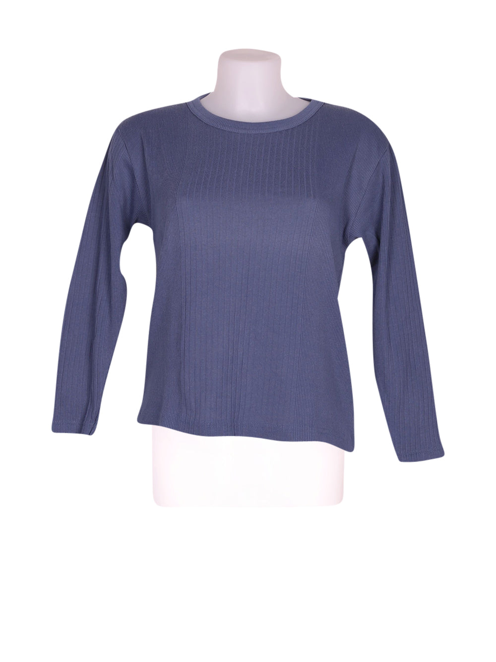 Front photo of Preloved Naf Naf Blue Woman's sweater - size 8/S