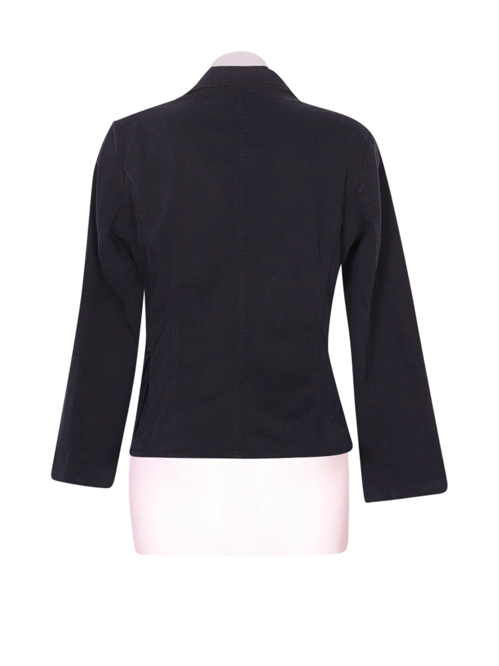 Back photo of Preloved Sisley Black Woman's blazer - size 10/M