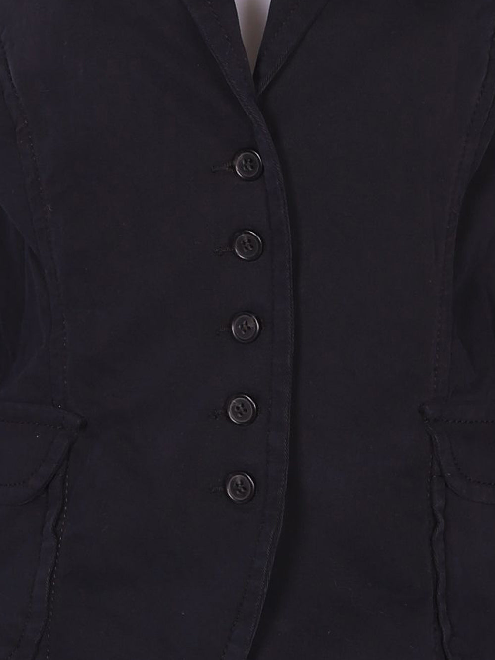 Detail photo of Preloved Sisley Black Woman's blazer - size 10/M