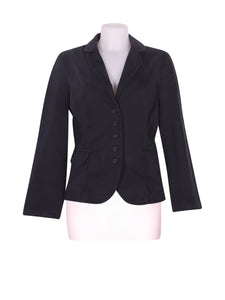 Front photo of Preloved Sisley Black Woman's blazer - size 10/M