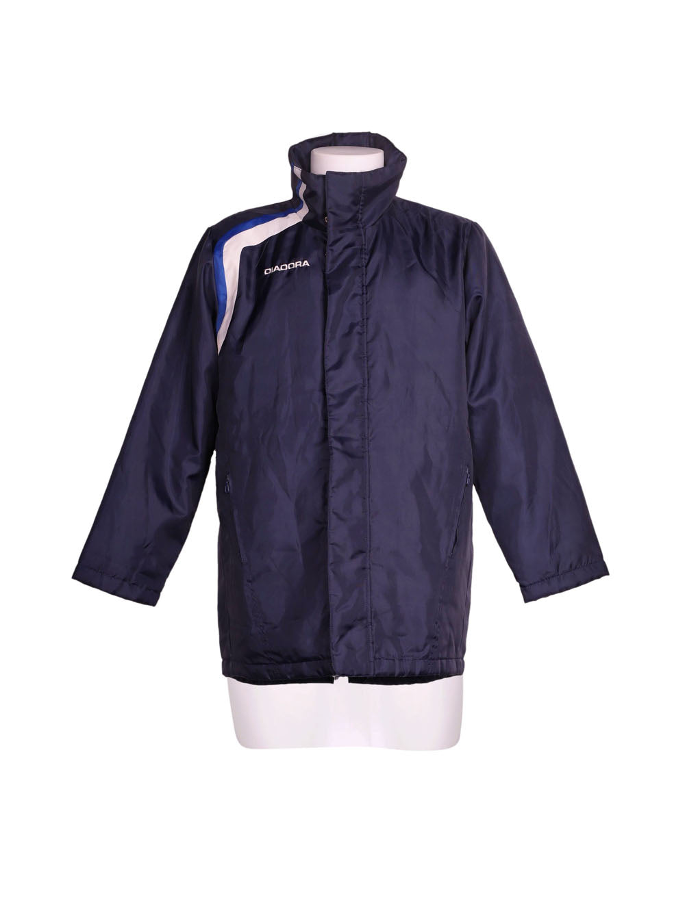 Front photo of Preloved Diadora Blue Man's jacket - size 36/S