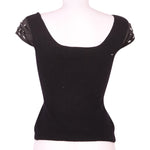 Back photo of Preloved Sisley Black Woman's sleeveless top - size 10/M
