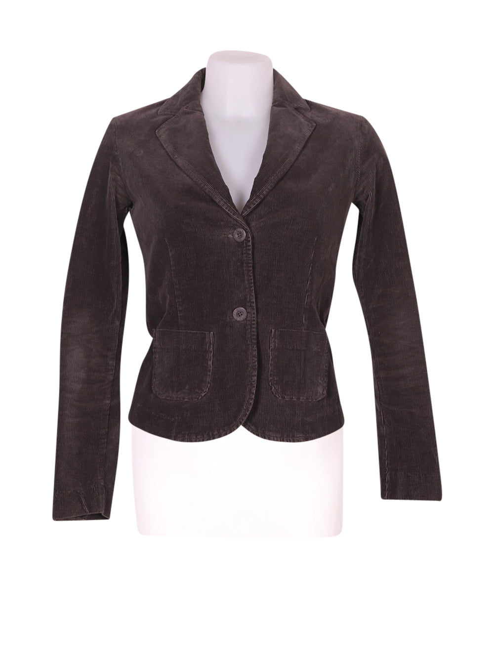 Front photo of Preloved European Culture Grey Woman's blazer - size 6/XS
