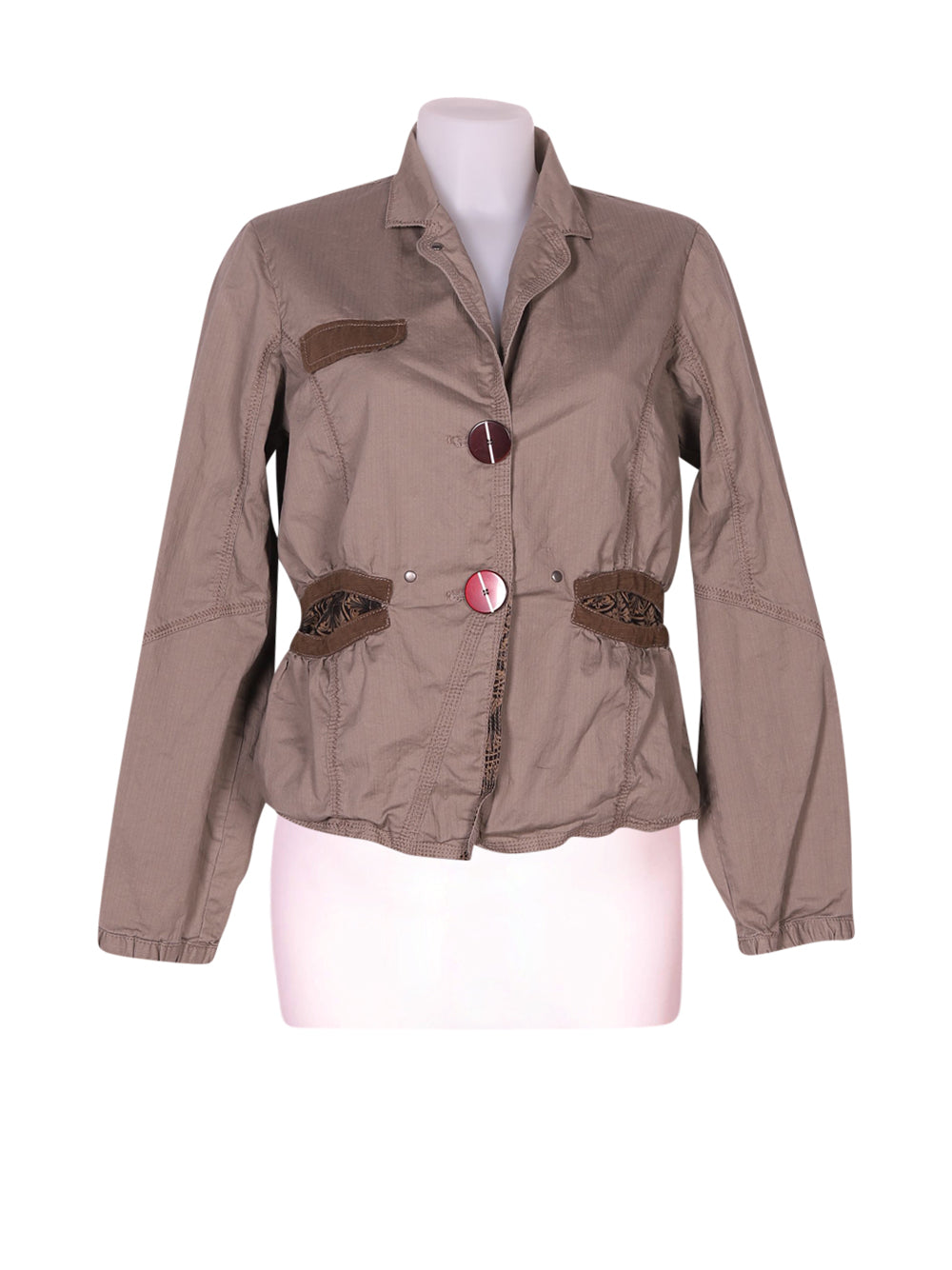 Front photo of Preloved solola Grey Woman's jacket - size 10/M