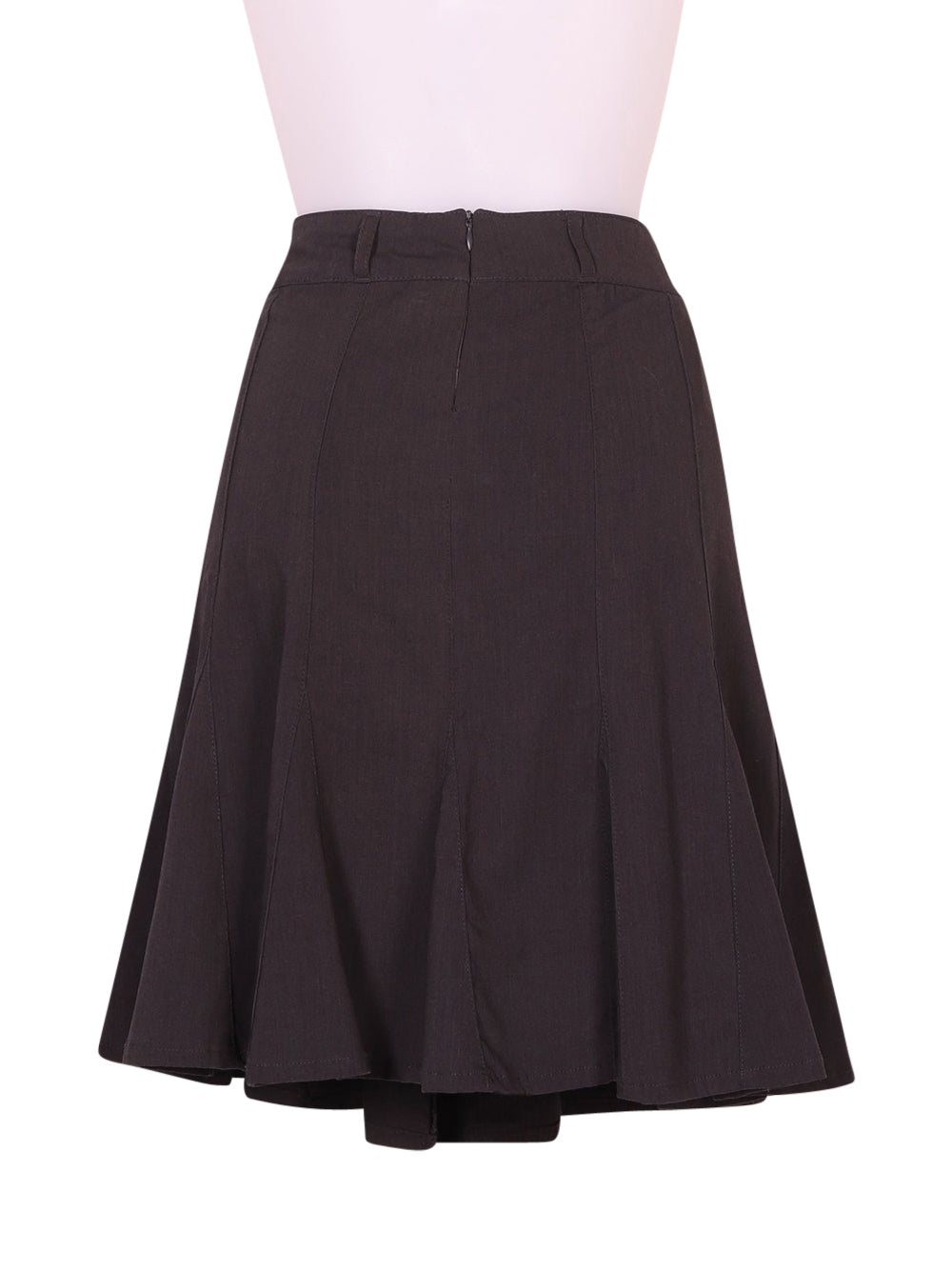 Back photo of Preloved ici et maintenant Grey Woman's skirt - size 10/M