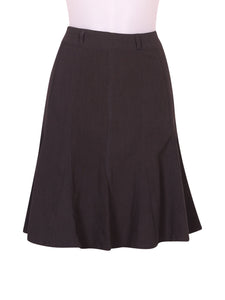 Front photo of Preloved ici et maintenant Grey Woman's skirt - size 10/M