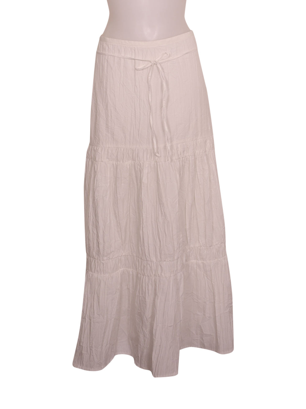 Front photo of Preloved Oltre White Woman's skirt - size 10/M
