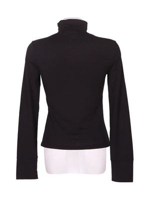 Back photo of Preloved Phard Black Woman's long sleeved shirt - size 8/S
