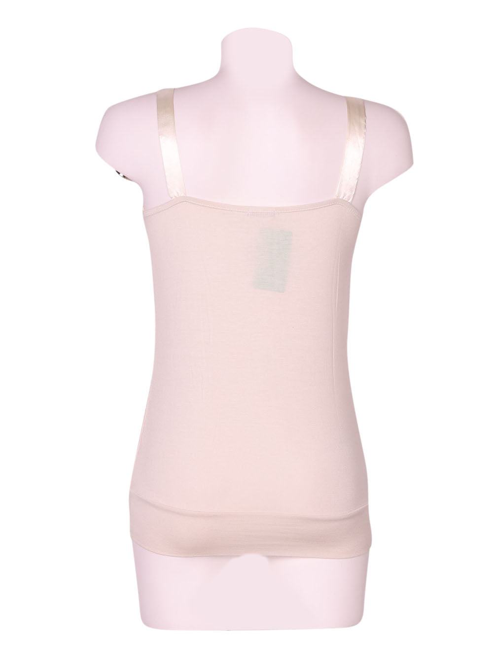 Back photo of Preloved Motivi White Woman's sleeveless top - size 8/S