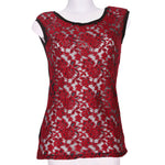 Front photo of Preloved egi Pink Woman's sleeveless top - size 10/M