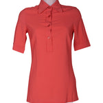 Front photo of Preloved Jucca Orange Woman's shirt - size 8/S