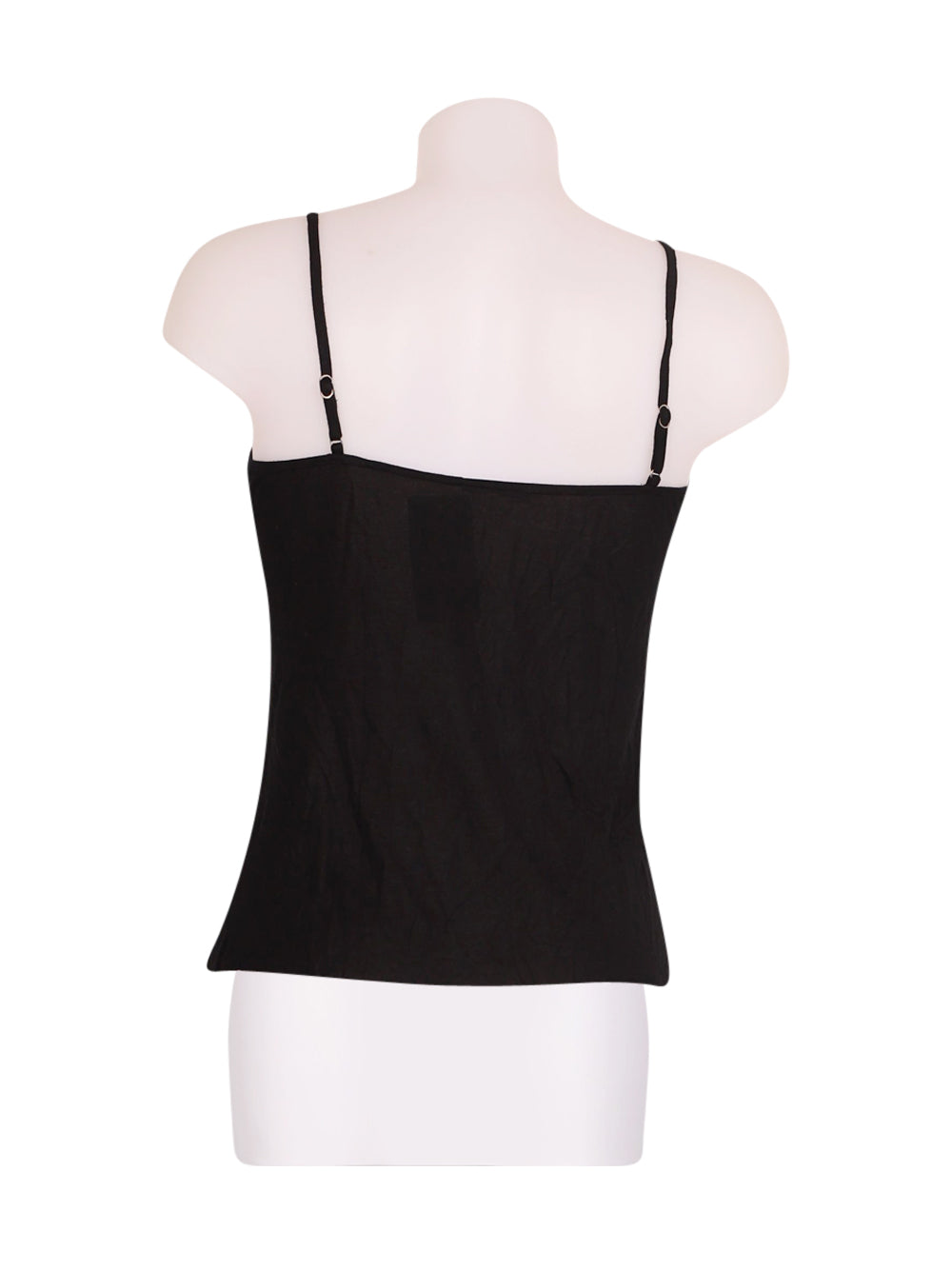Back photo of Preloved Sisley Black Woman's sleeveless top - size 8/S