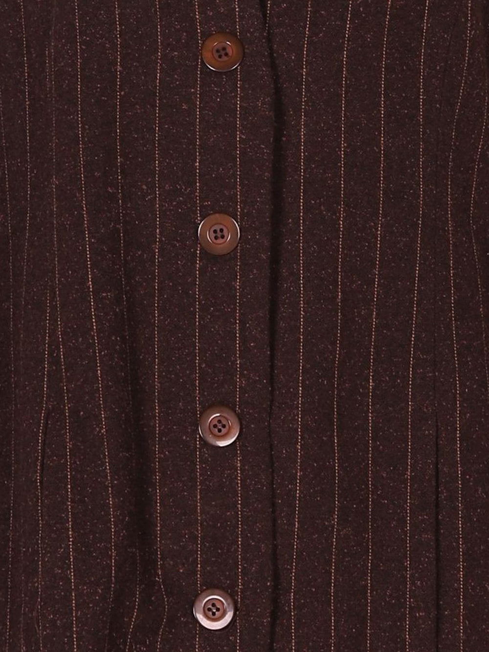 Detail photo of Preloved Berger du Nord Brown Woman's jacket - size 16/XXL