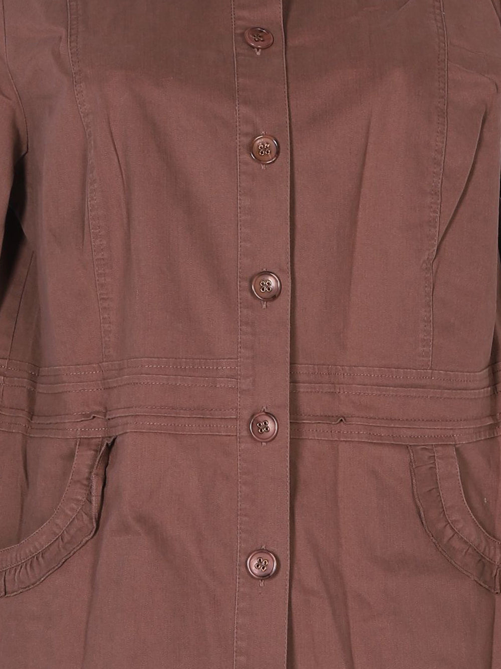 Detail photo of Preloved celaia Brown Woman's jacket - size 14/XL