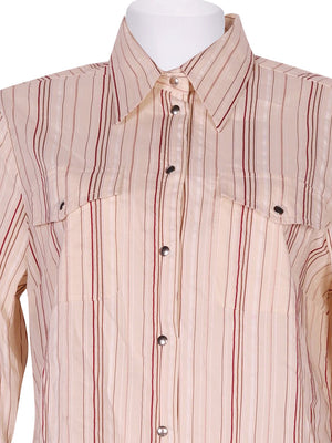 Detail photo of Preloved donna carol Beige Woman's shirt - size 8/S