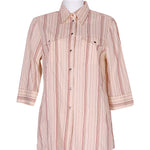 Front photo of Preloved donna carol Beige Woman's shirt - size 8/S