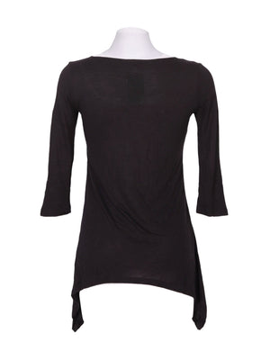 Back photo of Preloved Motivi Black Woman's long sleeved shirt - size 8/S
