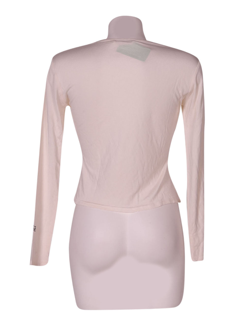 Back photo of Preloved Basile Beige Woman's long sleeved shirt - size 10/M