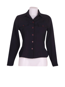 Front photo of Preloved Le Group Black Woman's shirt - size 10/M