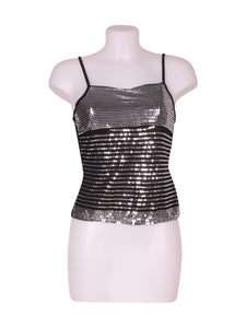 Front photo of Preloved Motivi Black Woman's sleeveless top - size 8/S