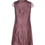 Back photo of Preloved Oltre Violet Woman's dress - size 12/L