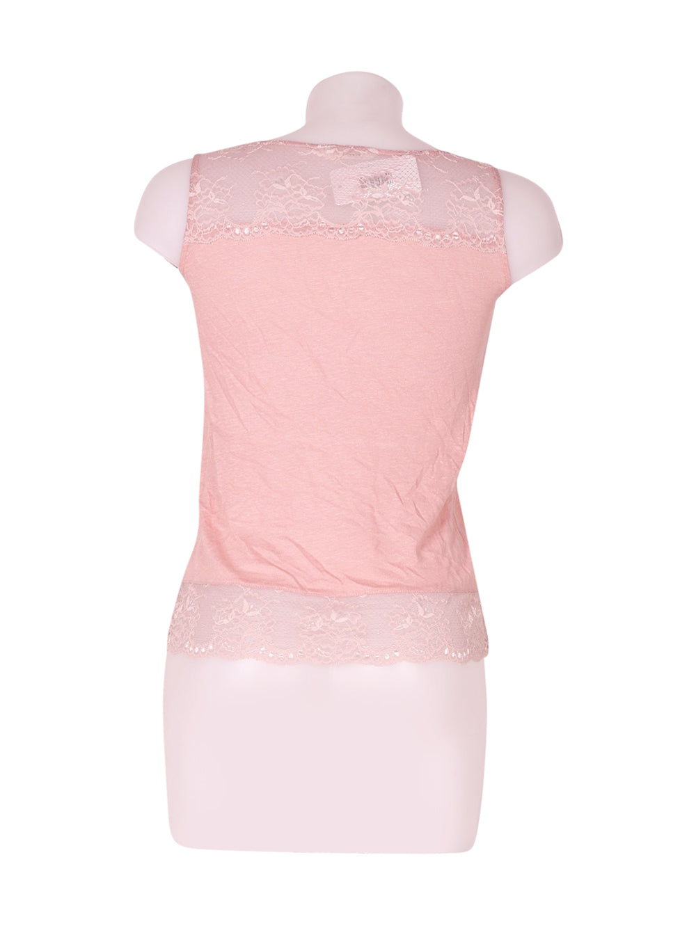Back photo of Preloved Naf Naf Pink Woman's sleeveless top - size 6/XS