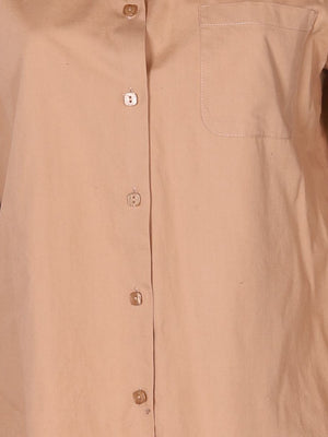 Detail photo of Preloved maria rosa Beige Woman's shirt - size 10/M