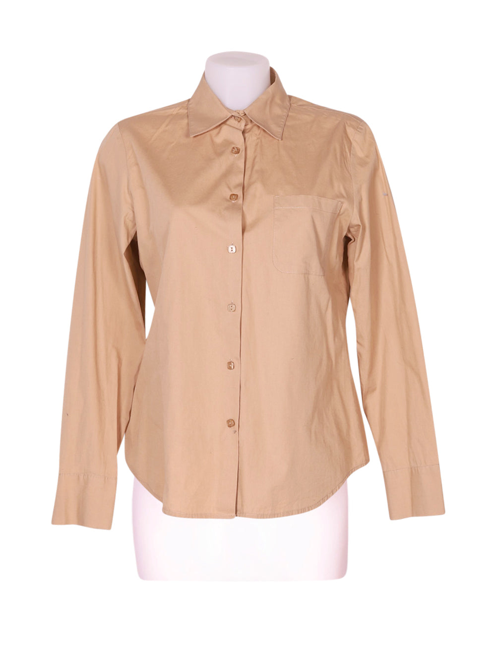 Front photo of Preloved maria rosa Beige Woman's shirt - size 10/M