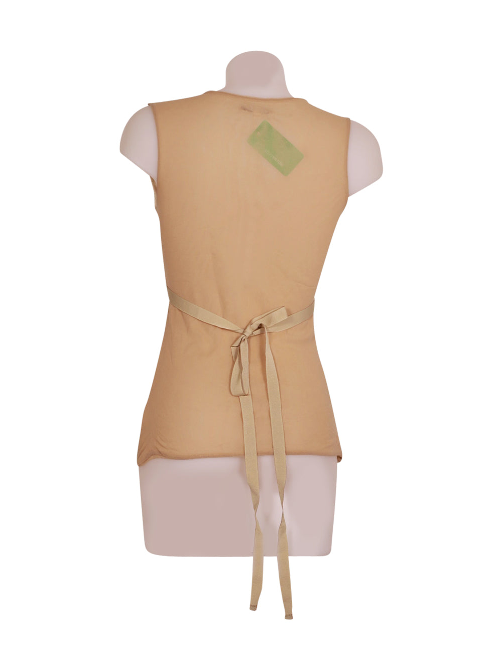 Back photo of Preloved be tween Beige Woman's sleeveless top - size 12/L