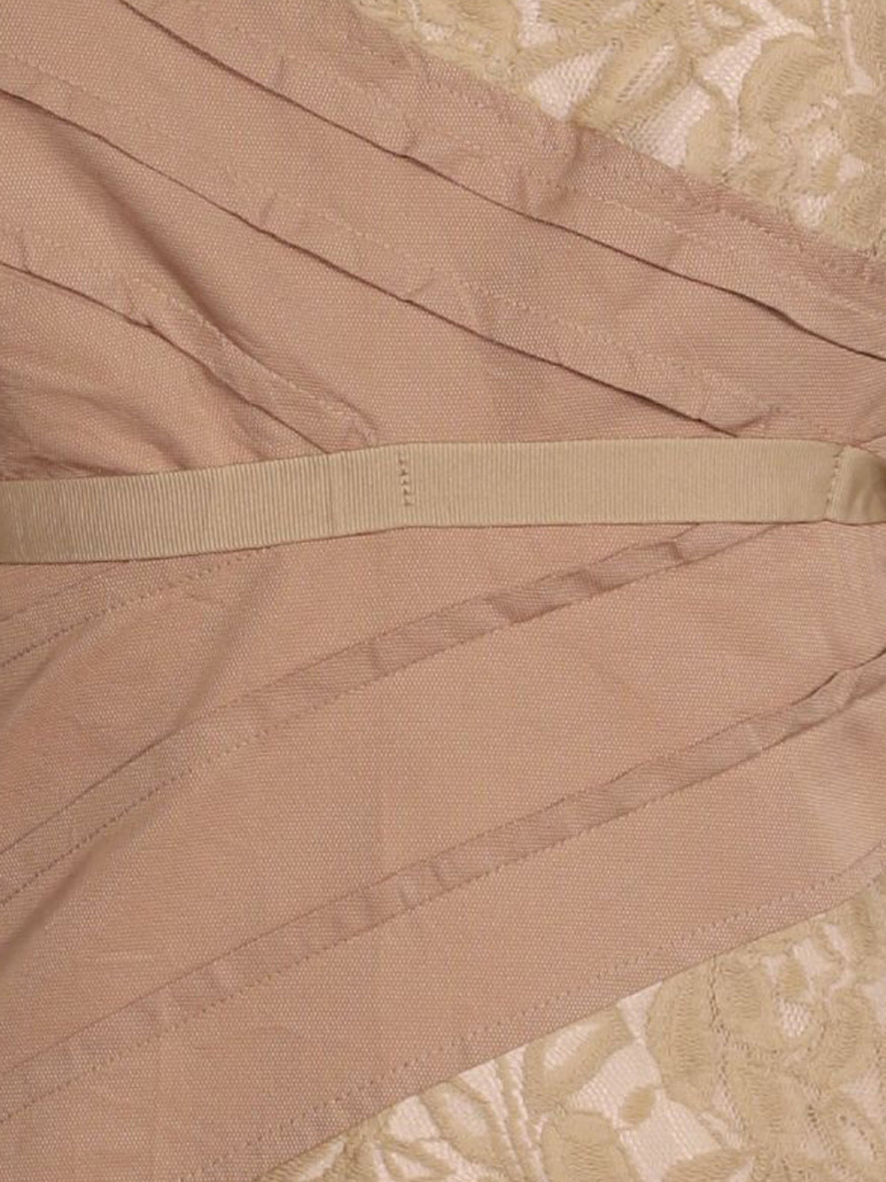 Detail photo of Preloved be tween Beige Woman's sleeveless top - size 12/L