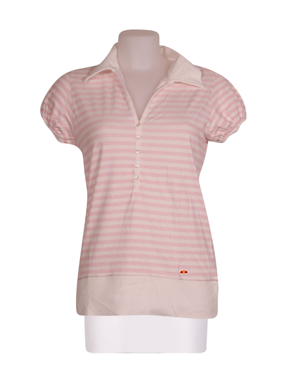 Front photo of Preloved Ellesse Pink Woman's polo - size 10/M
