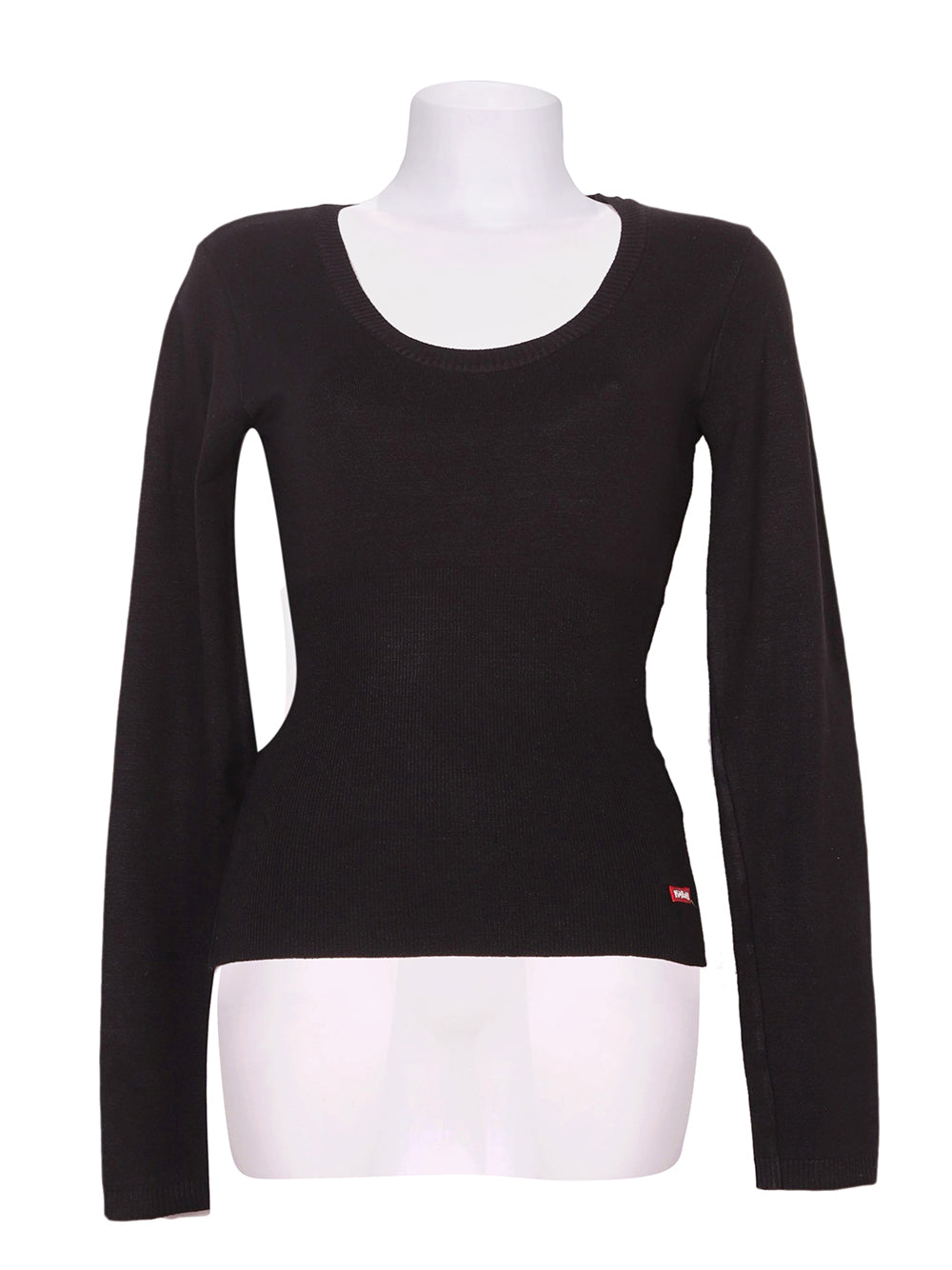 Front photo of Preloved Killah Black Woman's sweater - size 12/L