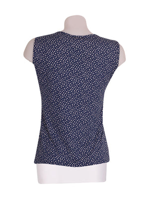 Back photo of Preloved gaia b Blue Woman's sleeveless top - size 8/S