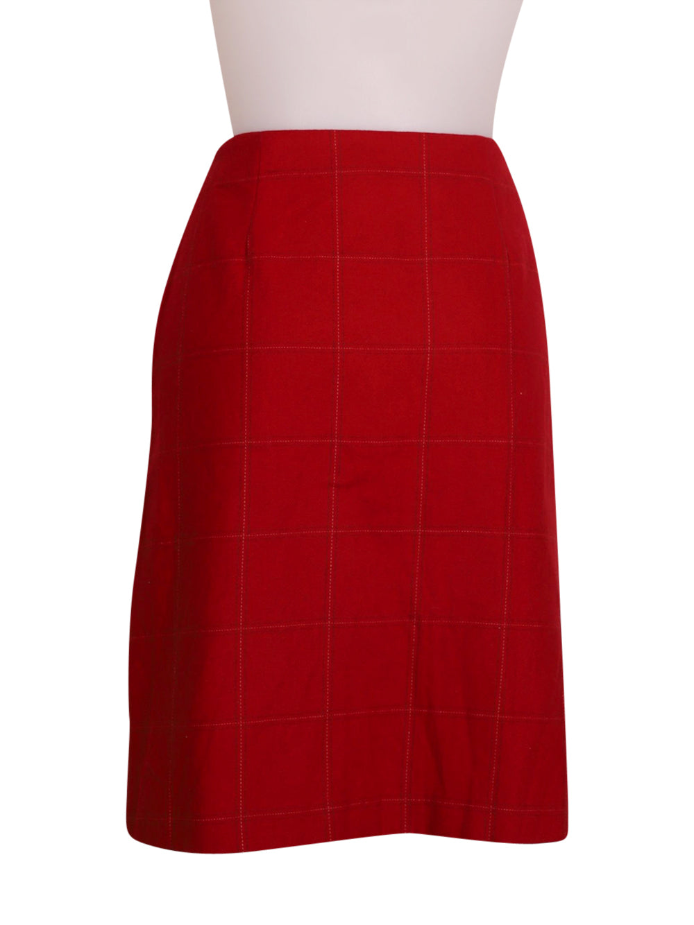 Back photo of Preloved Stefanel Red Woman's skirt - size 10/M