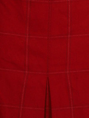 Detail photo of Preloved Stefanel Red Woman's skirt - size 10/M