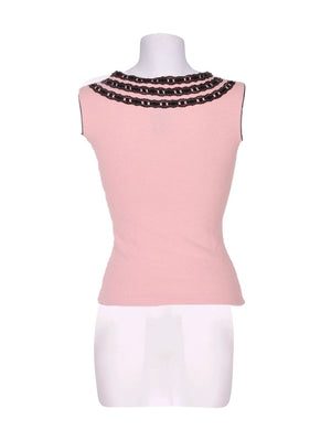 Back photo of Preloved ARIA PURA Pink Woman's sleeveless top - size 8/S